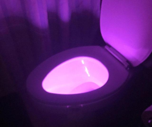 Best Toilet Bowl Light Motion Sensor Toilet Night Light