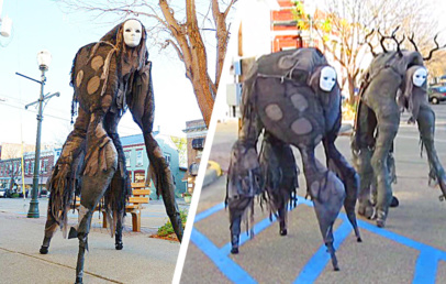 This Four-Legged Spirit Halloween Costume Is Completely DIY