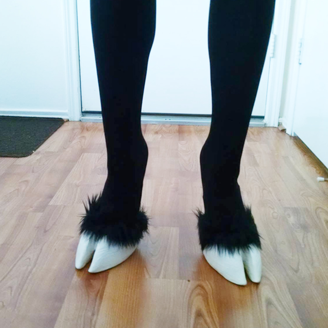 Gorgeous Cosplay Hooves Shoes