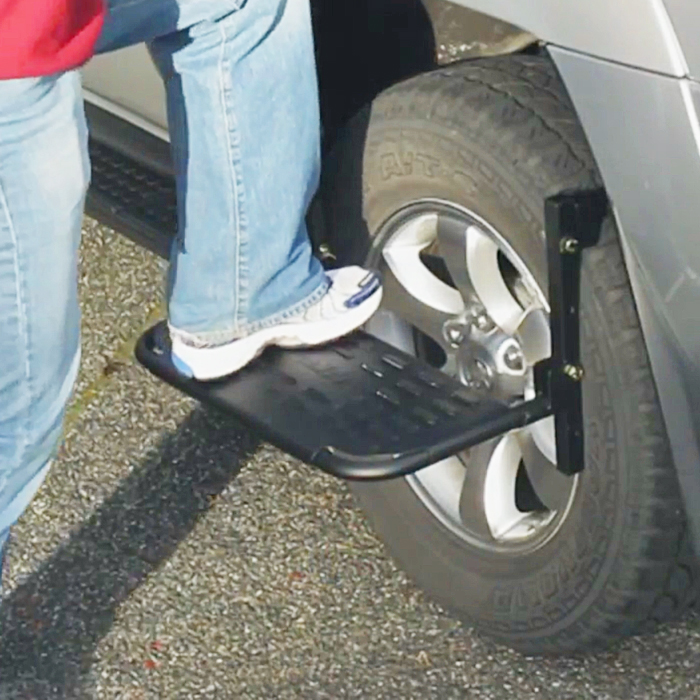 Car Roof Step Tirestep By Hitchmate Thesuperboo