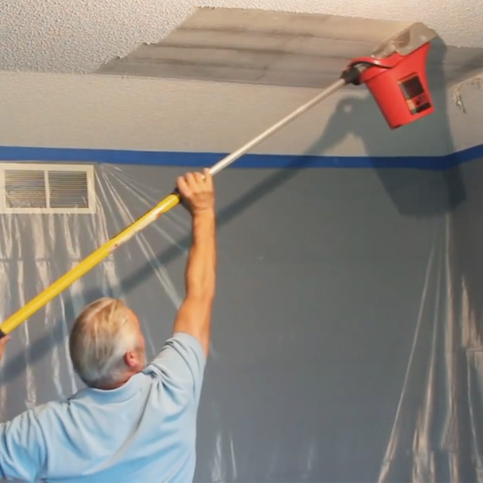 this popcorn ceiling remover is awesome