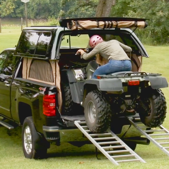 TopperEZLift Truck Toppers | Truck Bed Pop Up Camper