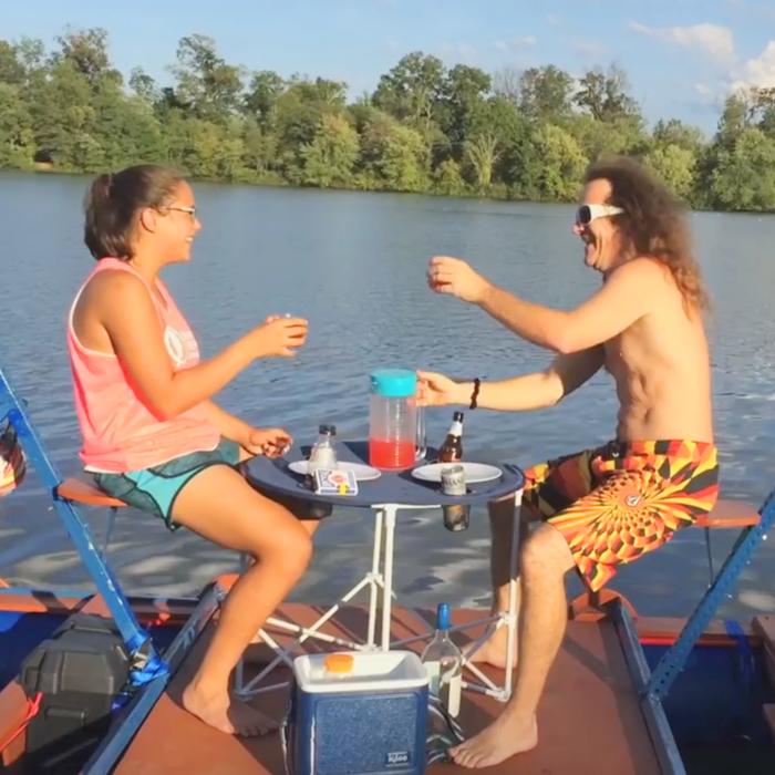 melloship is the best hammock boat