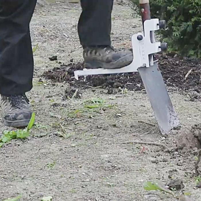 Kikka Digga is a digging tool that fits all Garden Forks