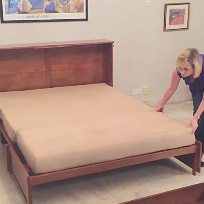 Cabinet guest Bed is perfect foe small rooms