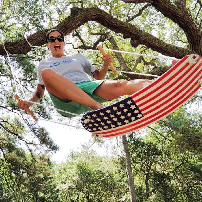 Swurfer Surfboard Swing | Tree Swing Inspired By Surfboard