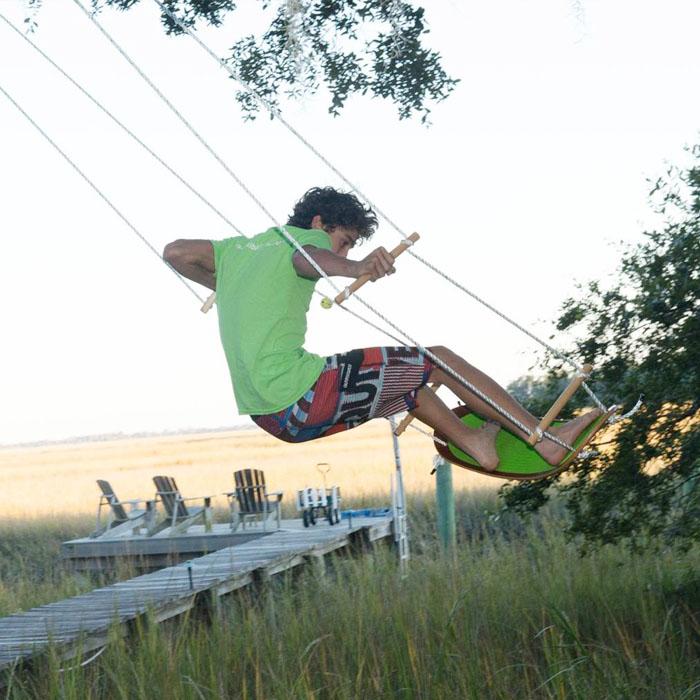 Swurfer Surfboard Swing   Tree Swing Inspired By Surfboard