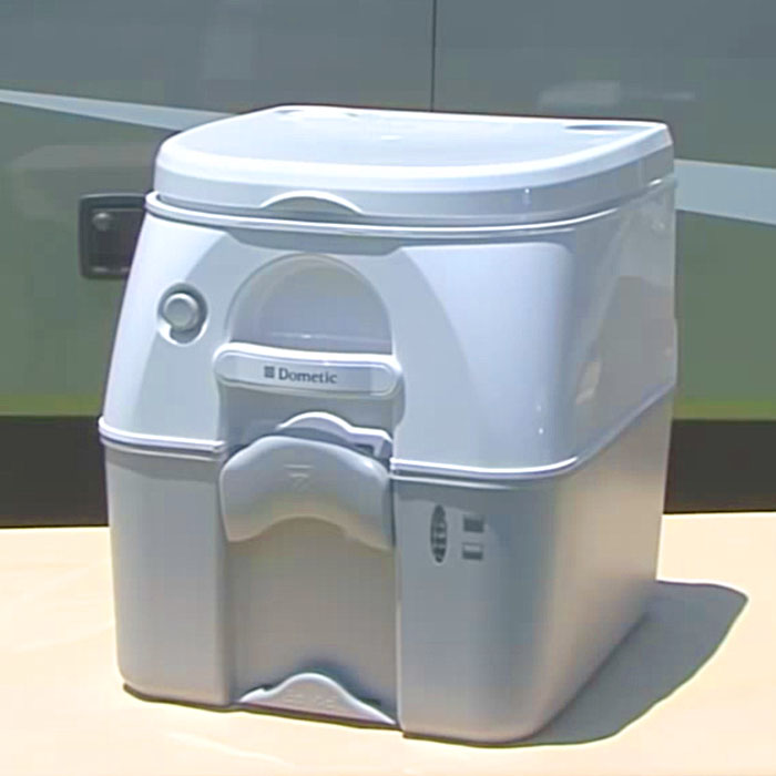This campervan toilet is awesome!