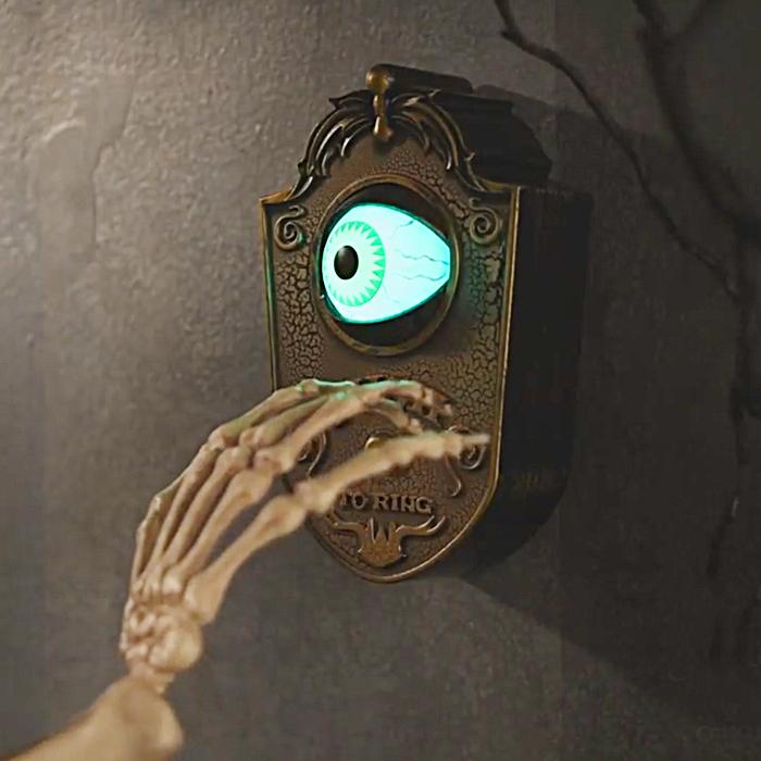 Animated Eyeball Doorbell
