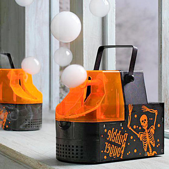 this Bubble Fogger Machine will make your halloween party foggy