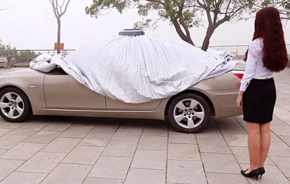 How Smart Automatic Car Cover Can Save Your Time