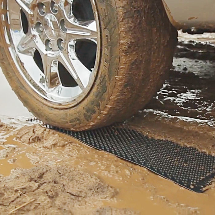 Portable Tire Traction Mats