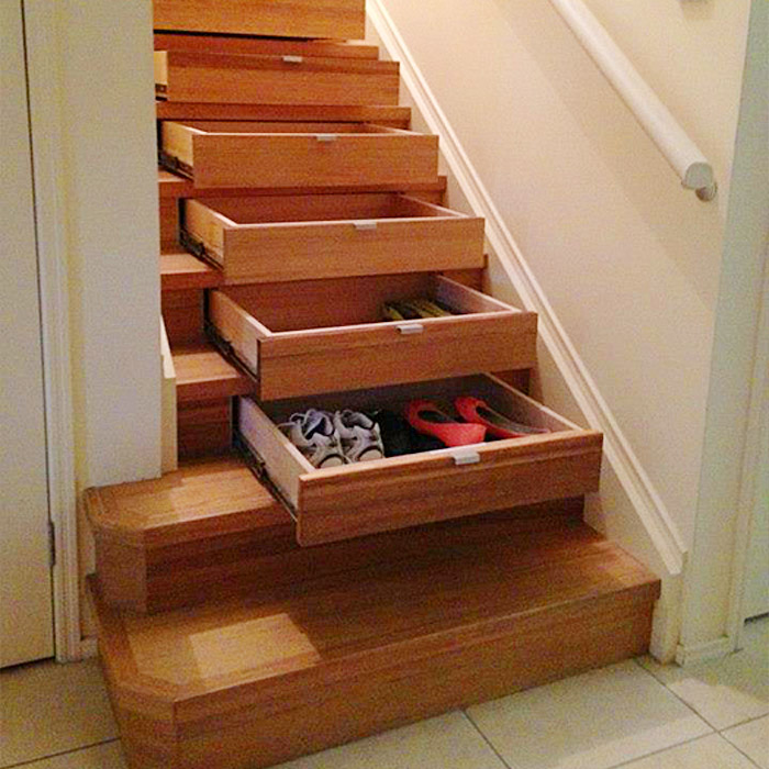 Why Hidden Drawers In Stairs Are The Secret Storage Solutions