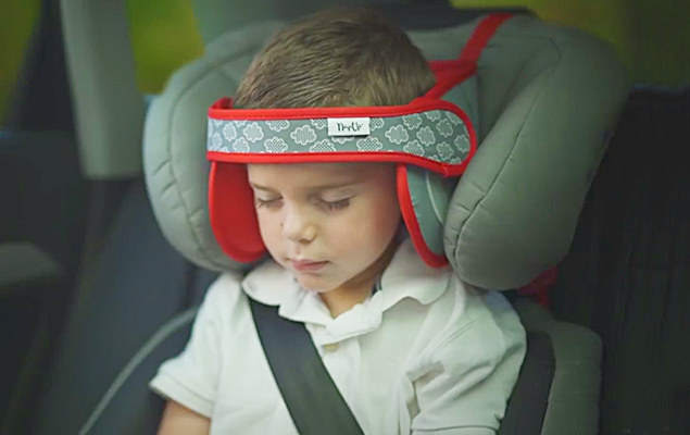 Child Car Seat Head Support NapUp