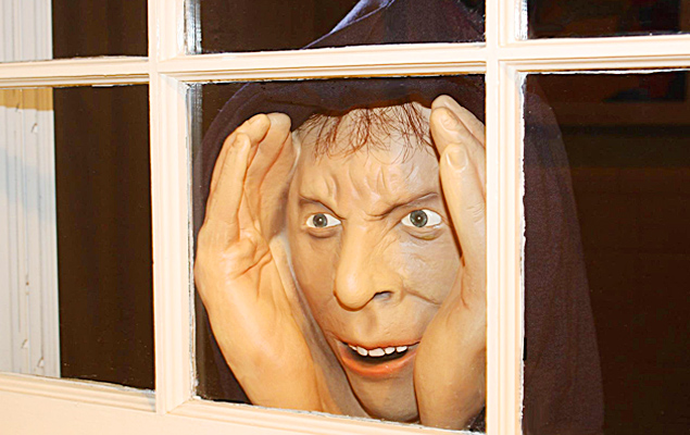 Peeping Tom Halloween Prop
