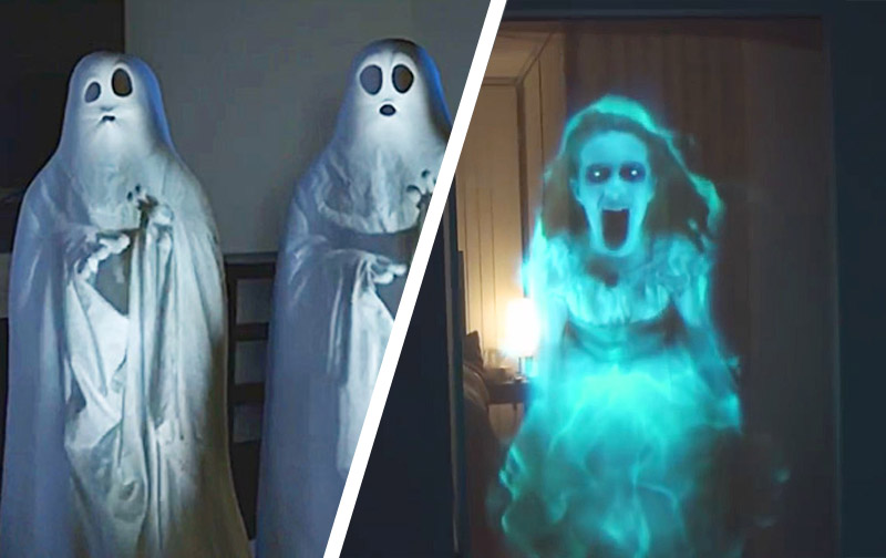 Scary Holographic Digital Halloween Decorations | Atmosfx