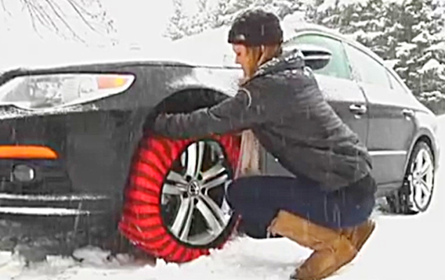Snow Socks For Cars | Get Better Traction in Snow