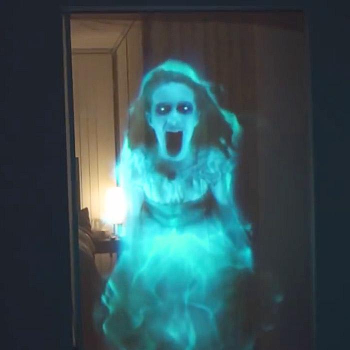 halloween projector