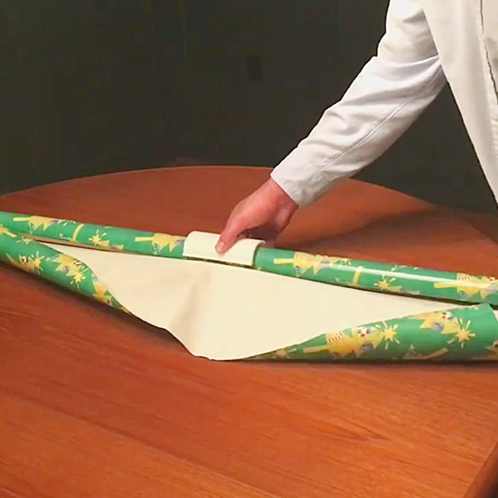 wrapping paper cutter dispenser