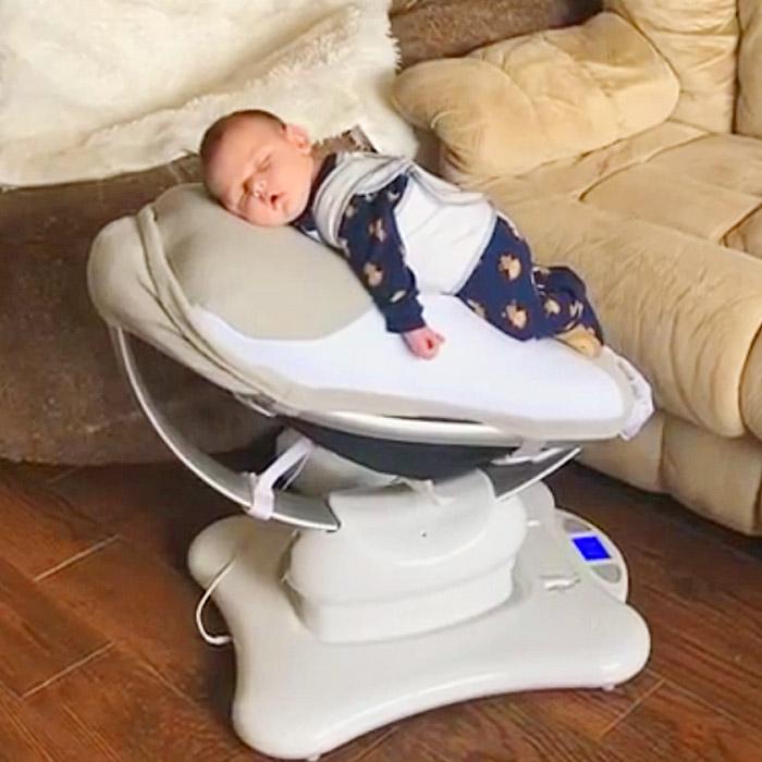 BaboCush Vibrating Pad Helps Soothe Crying Babies