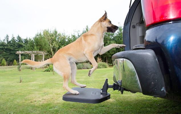 Best Dog Steps For SUV   Heininger Twistep