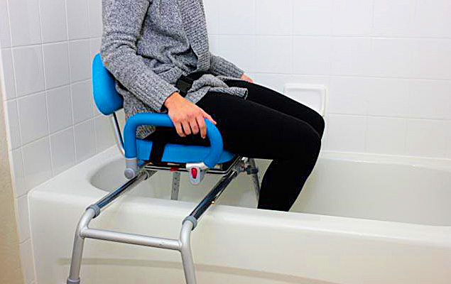 Best Swivel Bath Seat For Elderly Tub Transfer Bench Thesuperboo