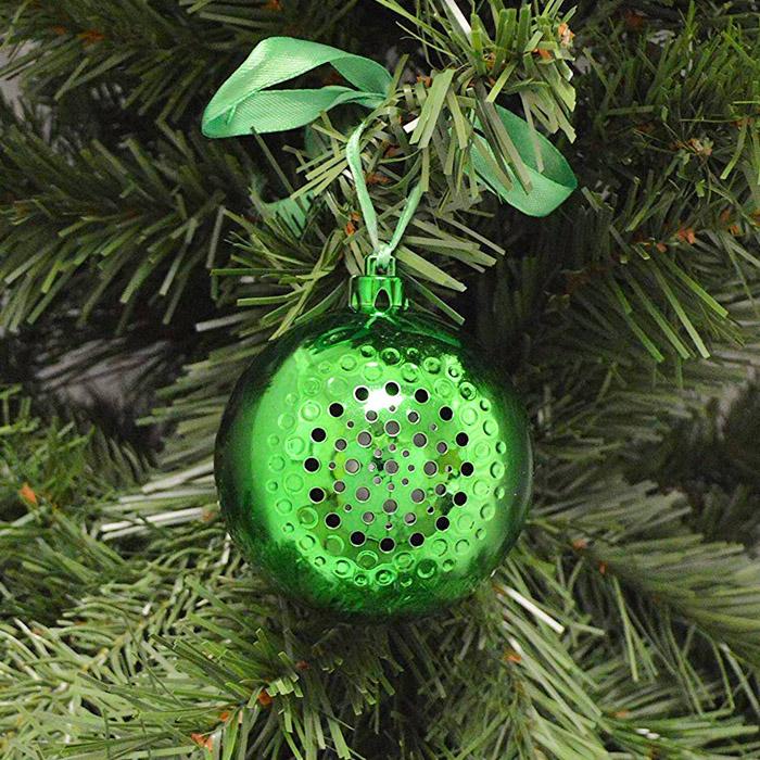 Bluetooth Speaker Christmas Ornament
