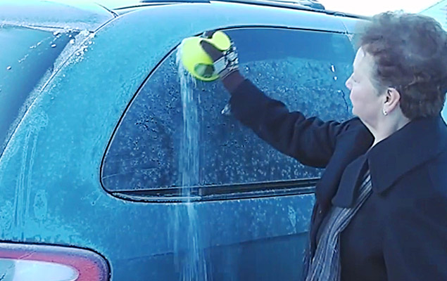 Car Ice Scraper | How To Get Ice Off Windshield With Scrape-a-Round