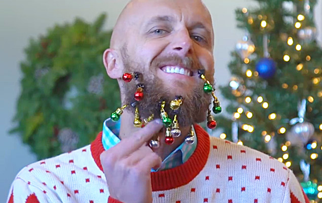 Christmas Beard Decorations | Beard Ornaments | Beardaments