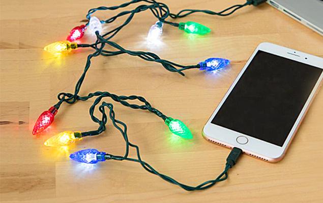 Christmas Light Phone Charger