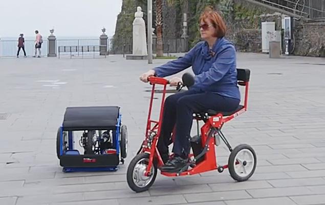 Di Blasi R30 Folding Mobility Scooter