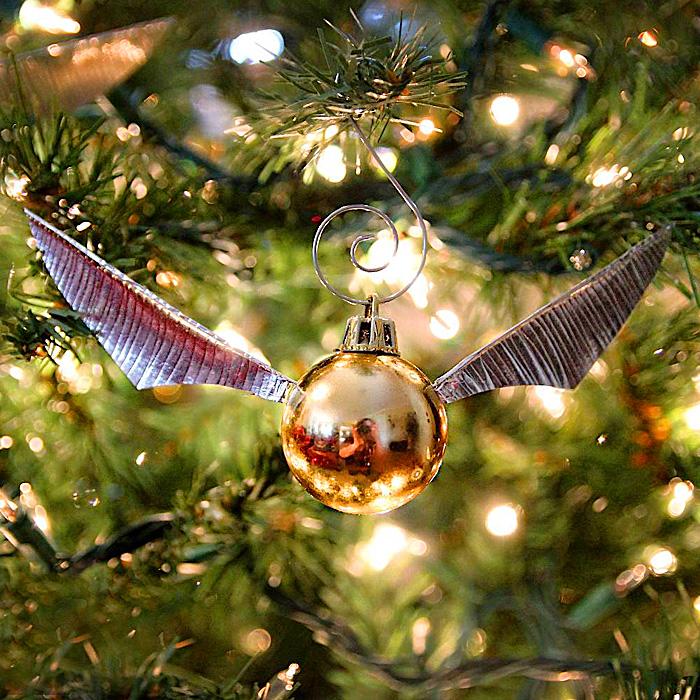 Golden Snitch Ornaments