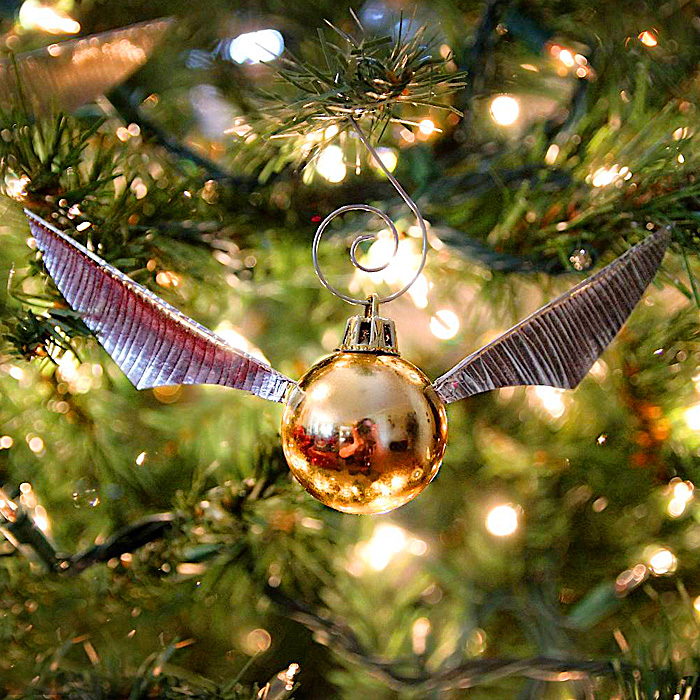 Golden Snitch Ornaments