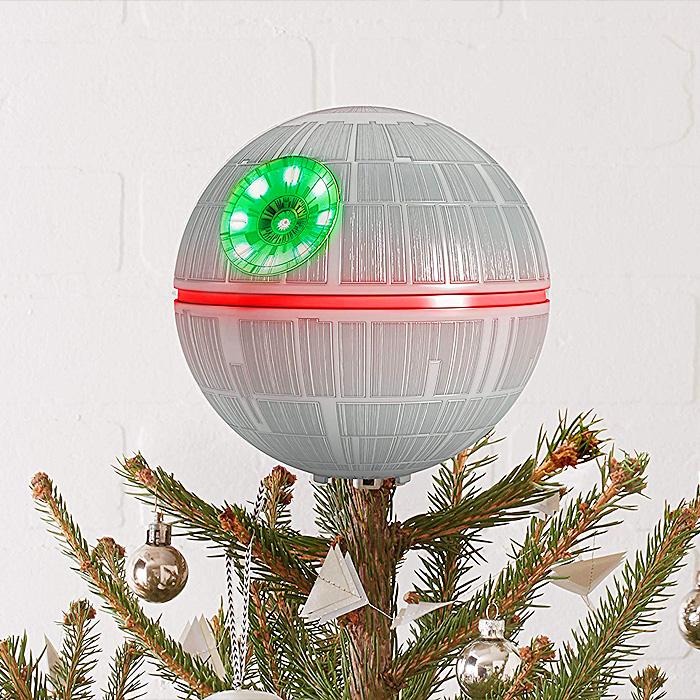 Light Up Death Star Tree Topper