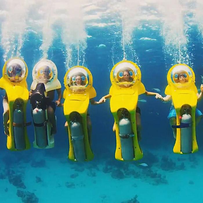 Scuba-Doo Underwater Scooter Tours