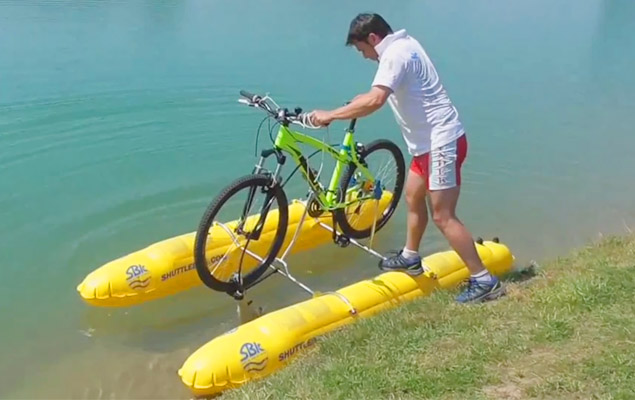 Shuttle Bike Kit   Turn Your Bicycle Into a Pedal Boat