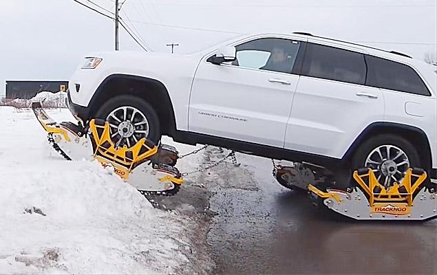 Snow Tracks For Trucks | Track N Go