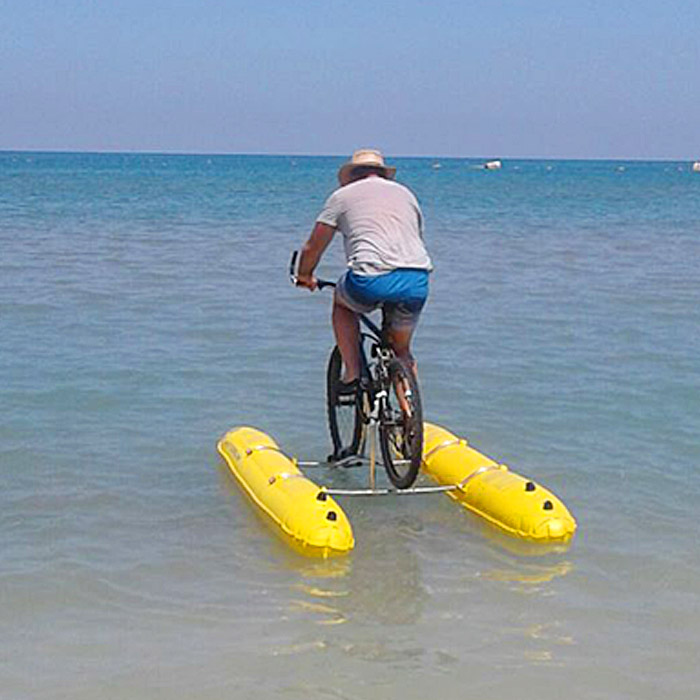 Turn Your Bicycle Into a Pedal Boat