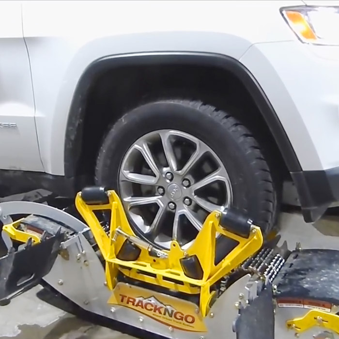 Turns Your Truck Into a Snowmobile