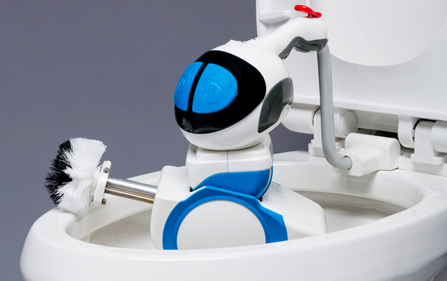 Automatic Toilet Cleaning Robot | Giddel