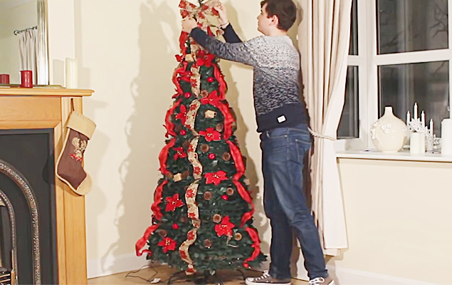 Led Pop Up Christmas Tree With Lights 6ft Christmas Tree