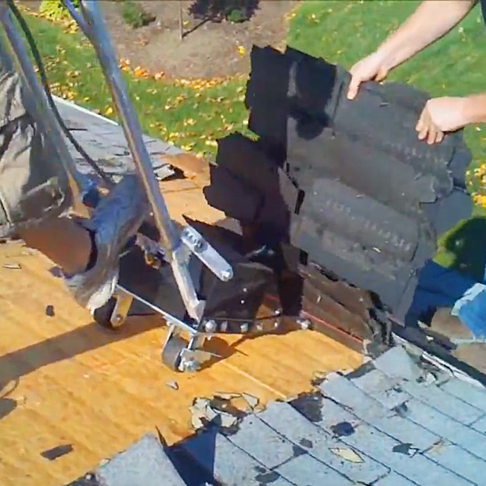 Roof Shingle Remover Machine