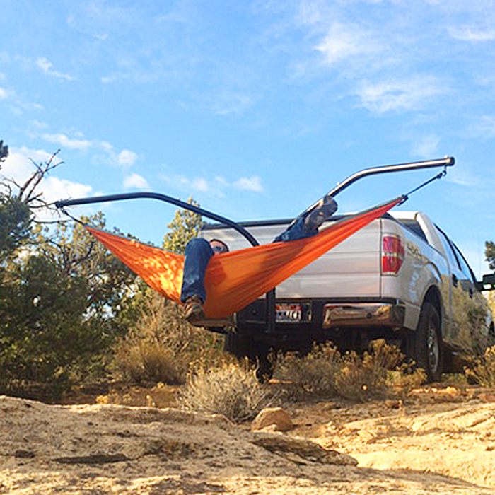 Set Up A Camping Hammock Without Tree