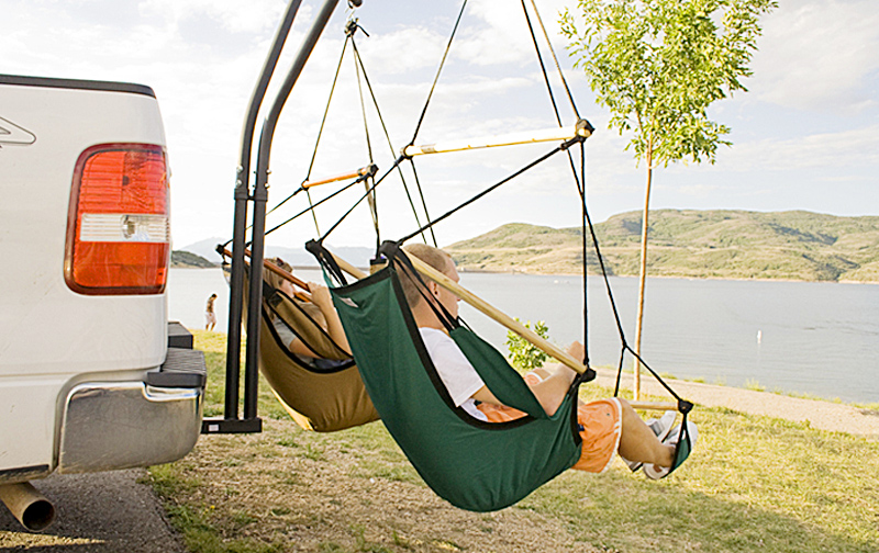 Trailer Hitch Hammock | Set Up A Camping Hammock Without Tree