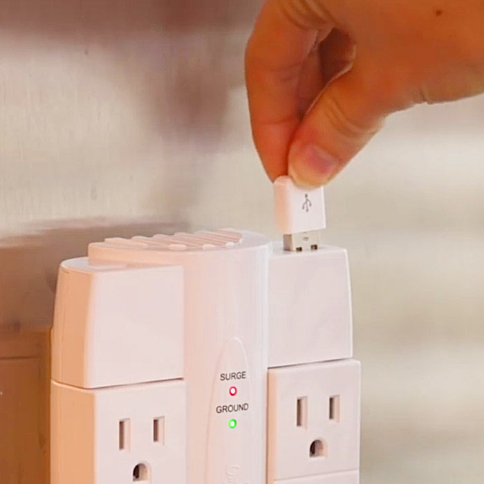 power surge protector with USB