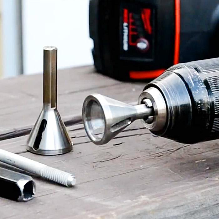 remove stripped screw