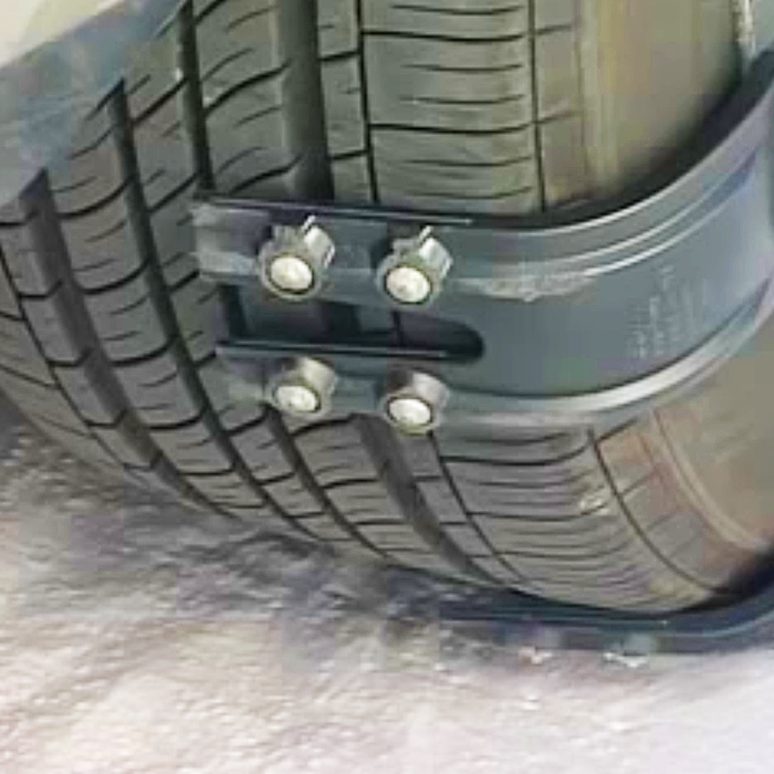 snap on tire chains
