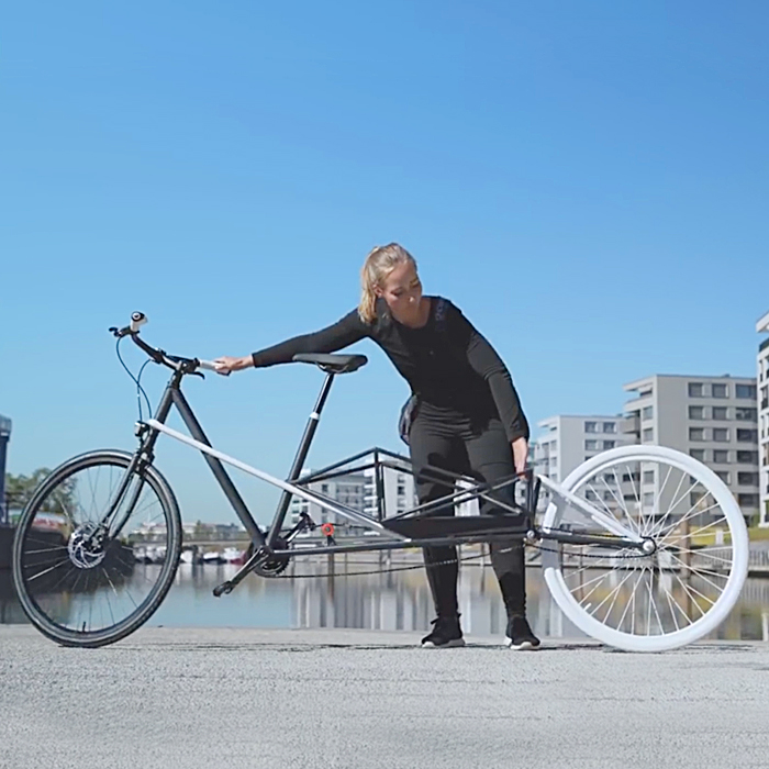 CONVERCYCLE BIKE - The convertible (electric) Bicycle