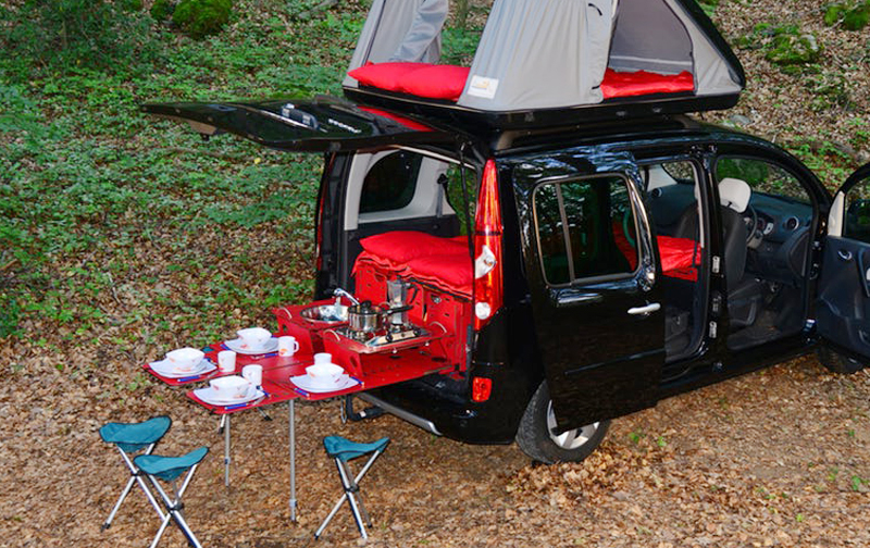 Camper Van Conversion Kit For Your Car | Swiss Room Box | TheSuperBOO!
