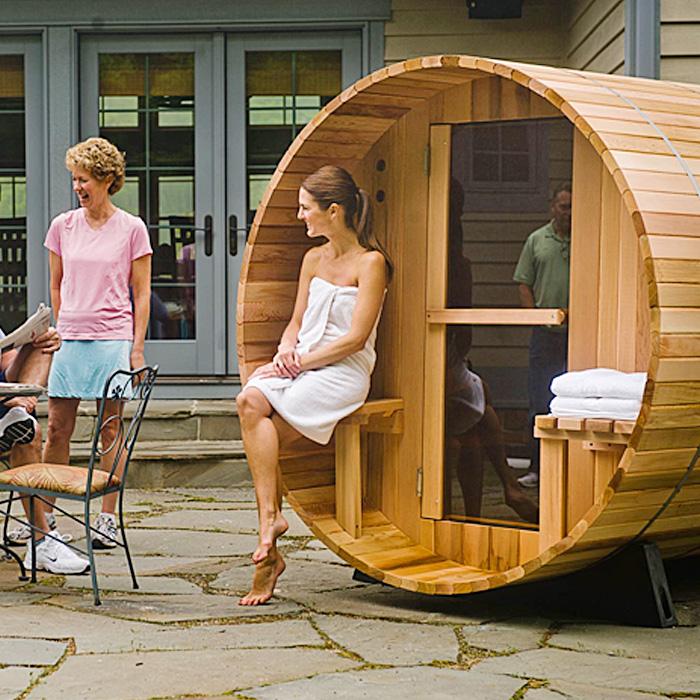 Outdoor And Indoor Home Sauna Kit